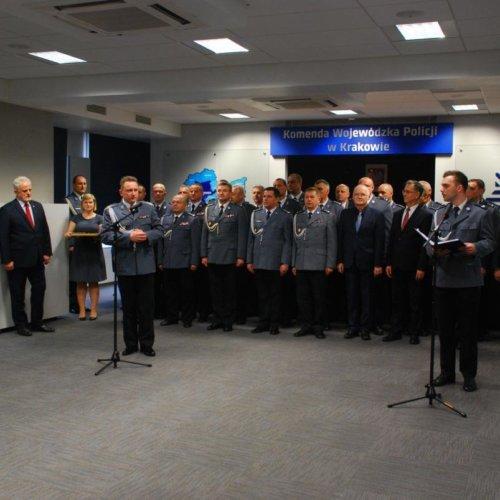 Nagrody Komendanta Głównego Policji dla wyróżniających się policjantów w Małopolsce