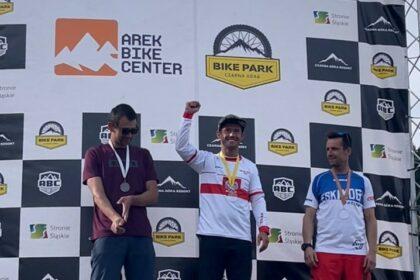 Artur Miśkiewicz Mistrzem Polski w Downhillu