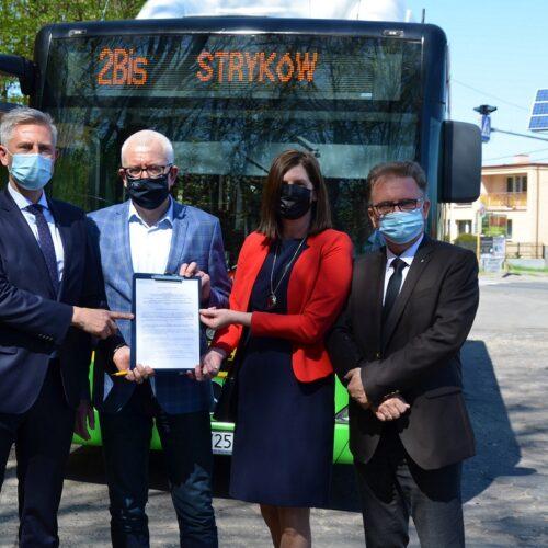 Autobus nr 2 BIS wkrótce wyjedzie na drogi powiatu zgierskiego